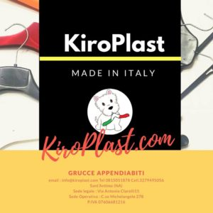 Produzione grucce Kiroplast hangers cintres production perchas